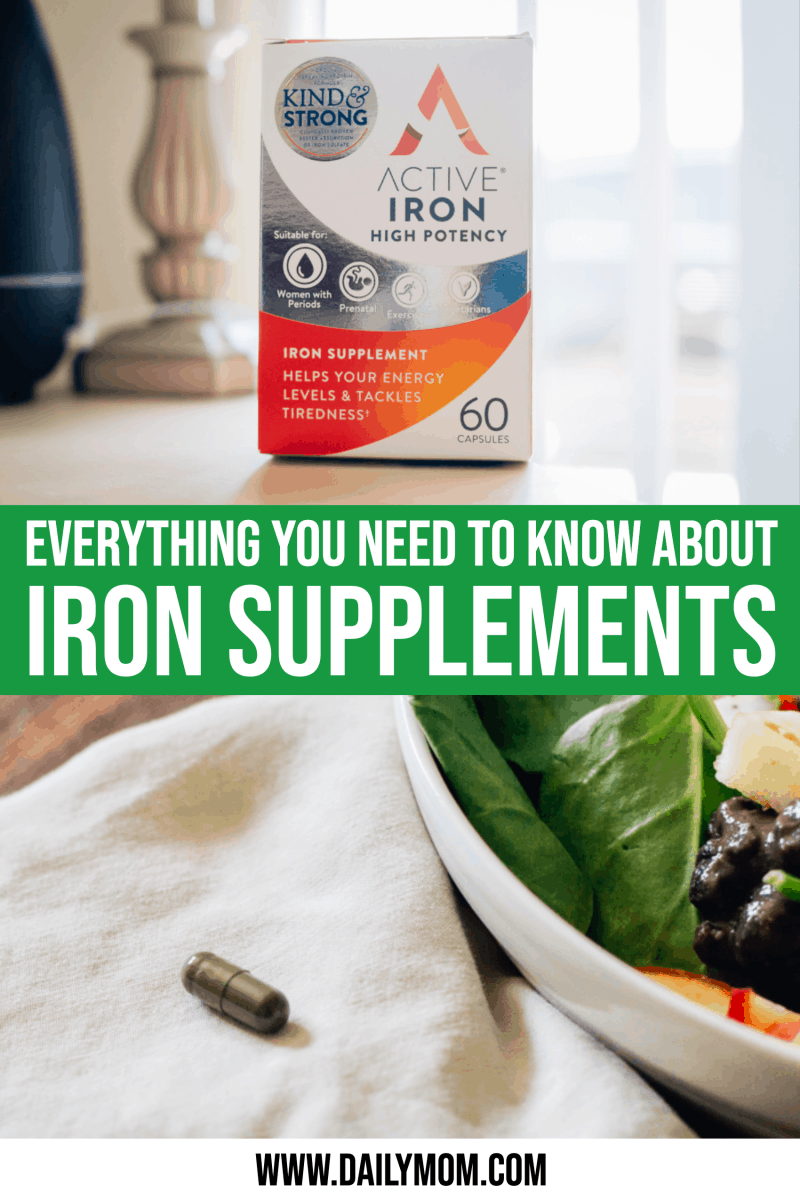 Everything You Need To Know About Taking An Iron Supplement