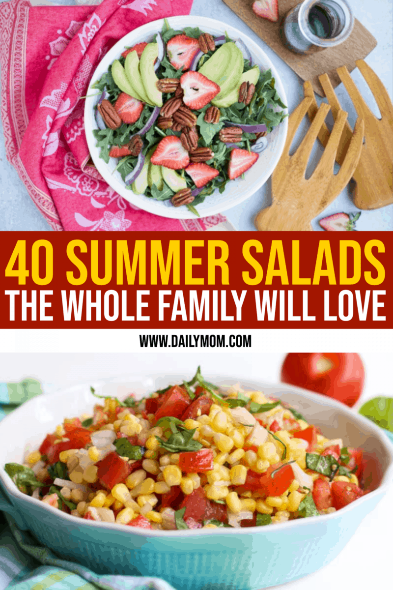 40 Summer Salads The Whole Family Will Love