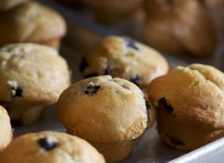 Wild Blueberry Muffin Recipe From Sweet Tomatoes Restaurant