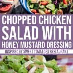 Chopped Chicken Salad with Honey Mustard Dressing by Sweet Tomatoes Restaurant 1 Daily Mom Parents Portal