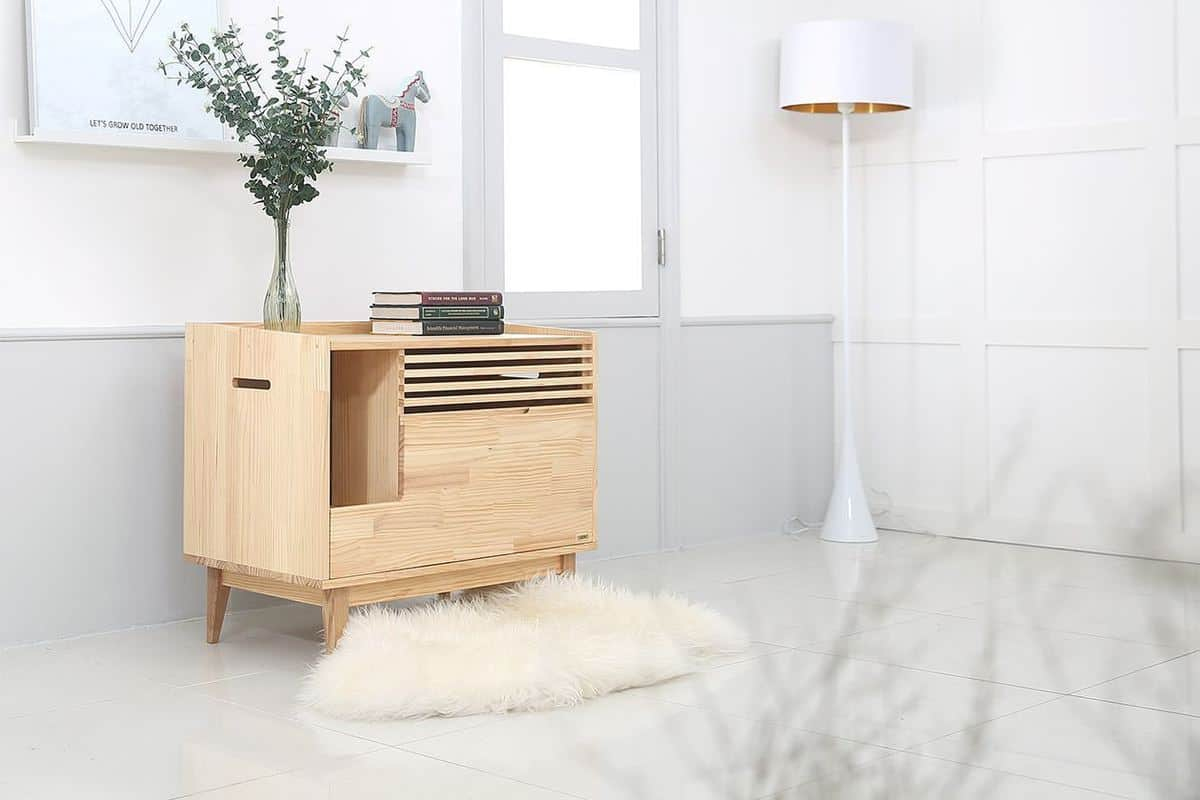 14 Cat Litter Box Furniture Solutions You Did Not Know Existed