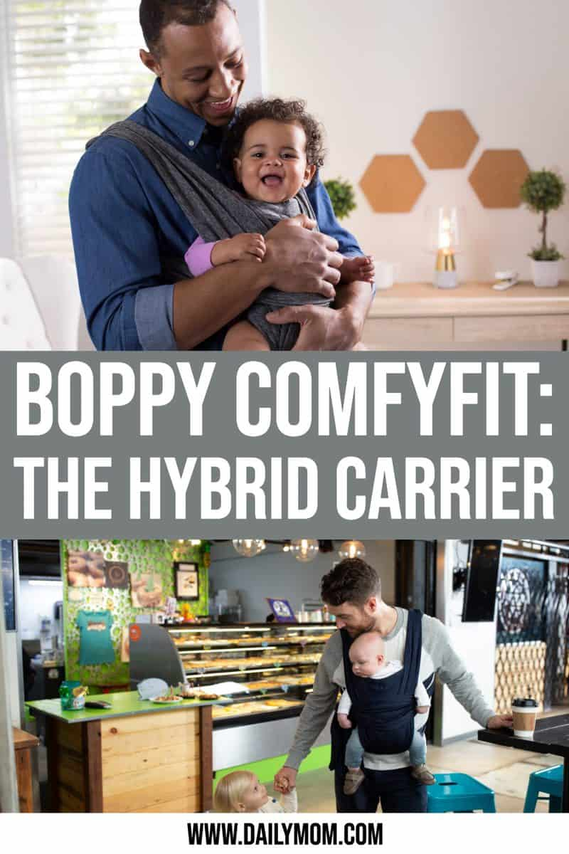 The New Boppy Comfyfit Baby Carrier