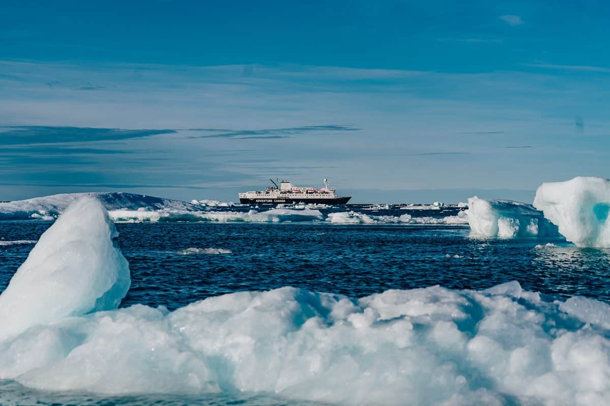 Arctic Cruise With Adventure Canada Daily Mom Parent Portal Gris Fjord Settlement