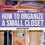 How To Organize A Small Closet 1 Daily Mom Parents Portal
