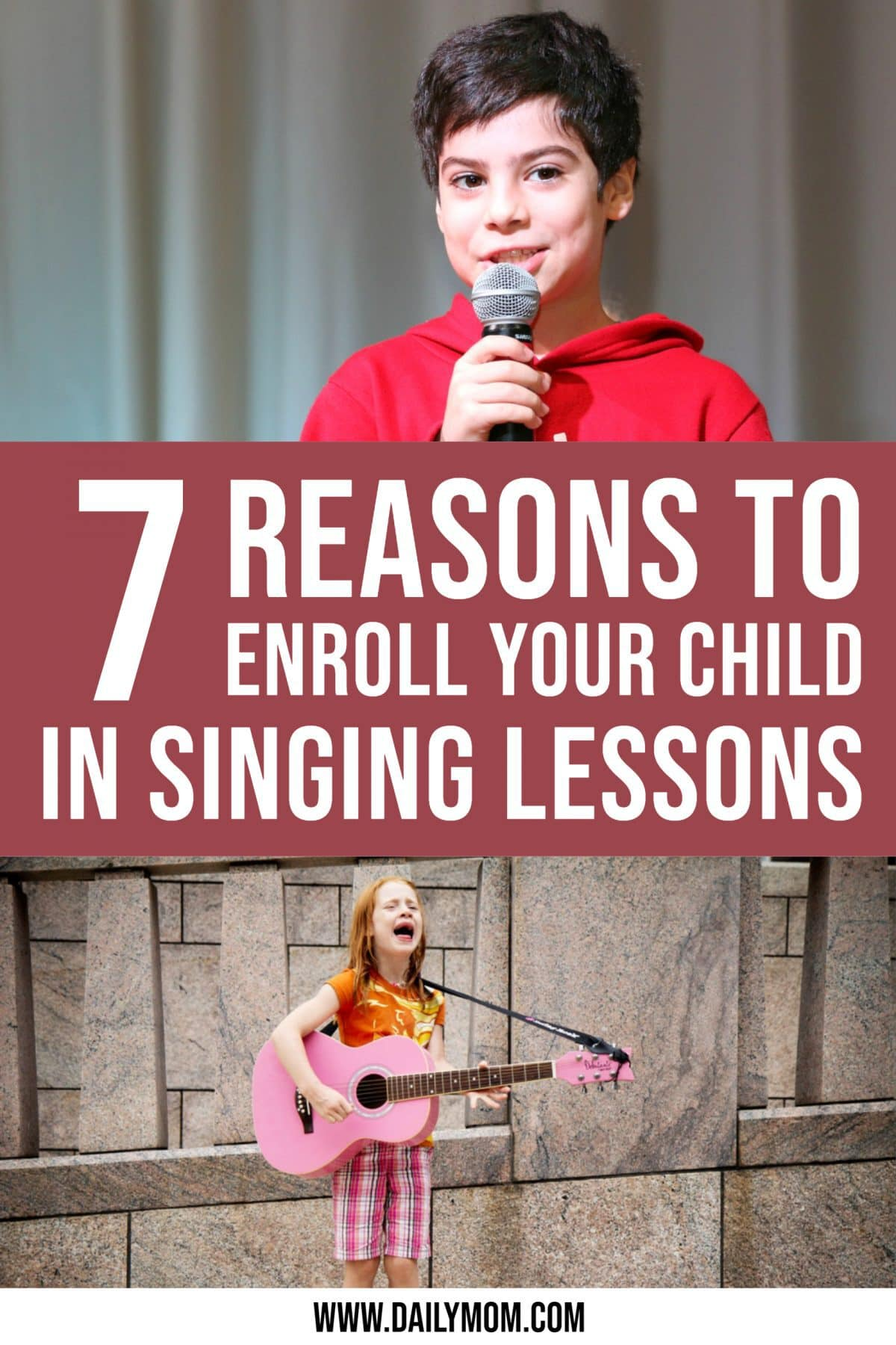 The Top 7 Benefits Of Enrolling Your Child In Singing Lessons- No Matter Their Vocal Talent