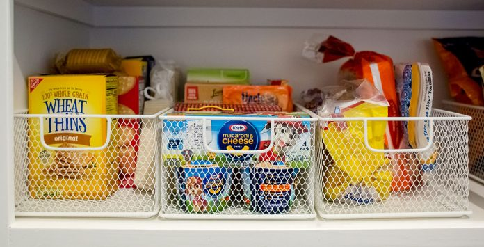 X Pantry Organizational Tasks For A More Relaxed Holiday Season