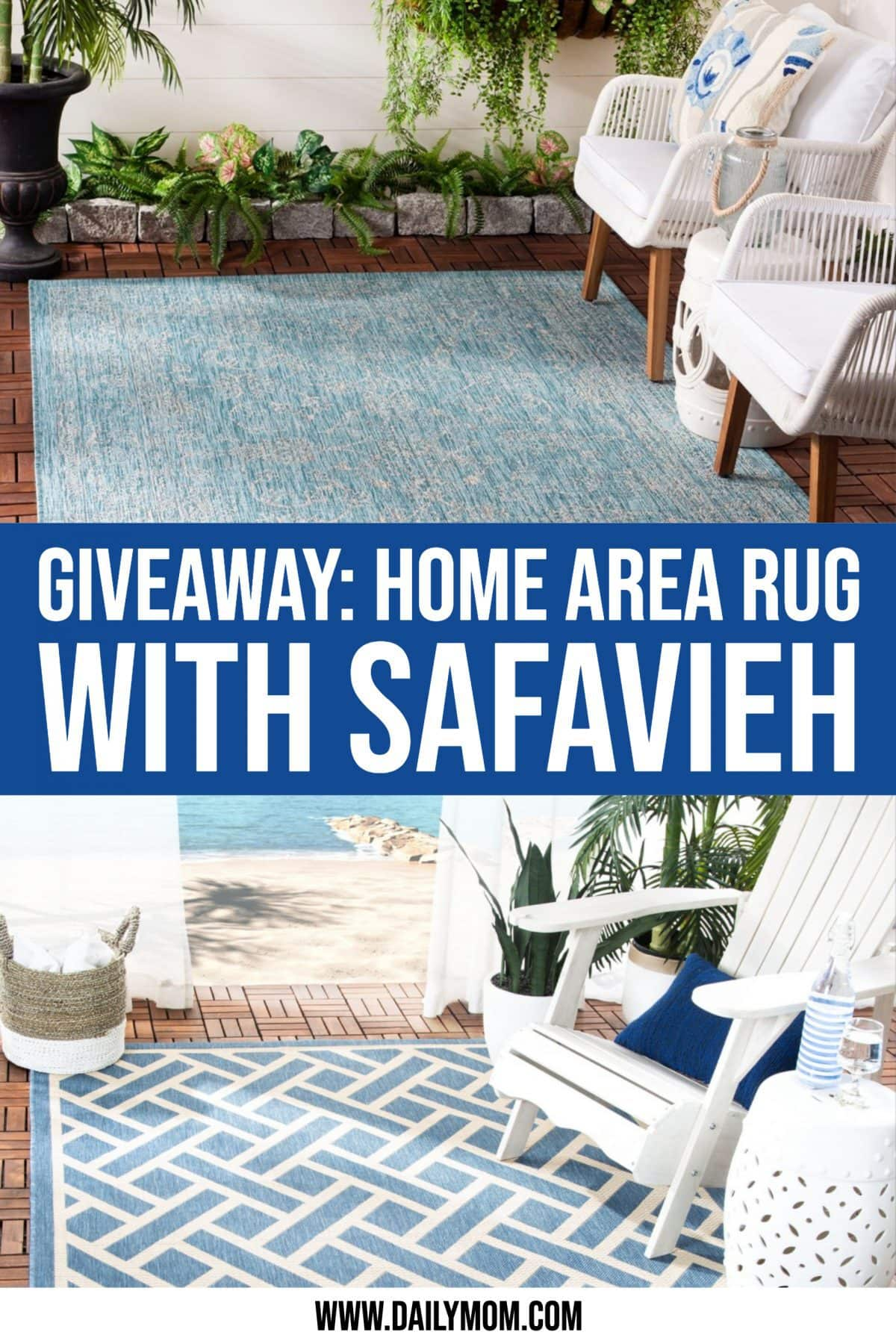 Giveaway: Win A Safavieh Home Area Rug Just In Time For The Holidays