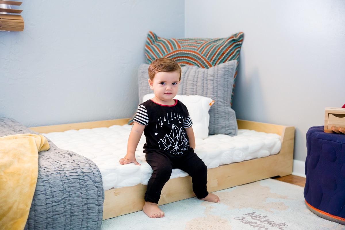 5 Montessori Bedroom Tips Including A Montessori Floor Bed