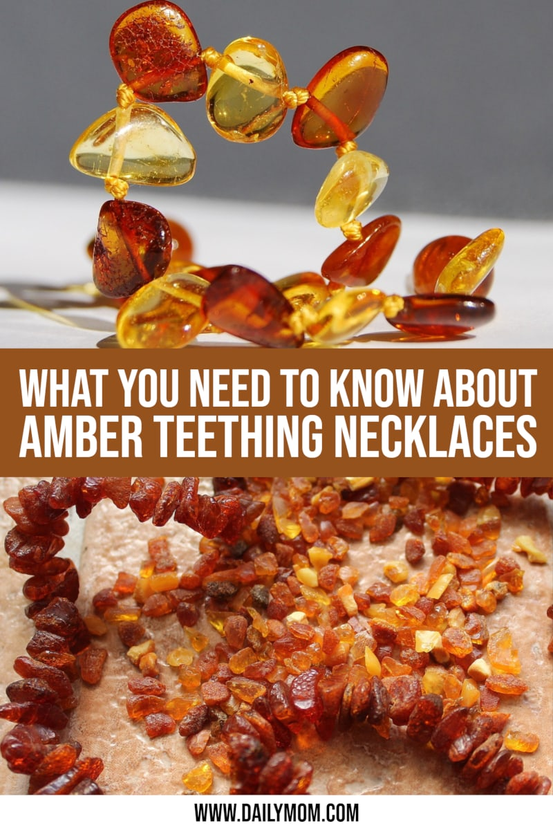 daily-mom-parent-portal-Amber Teething Necklaces: Do They Work And Are They Safe?