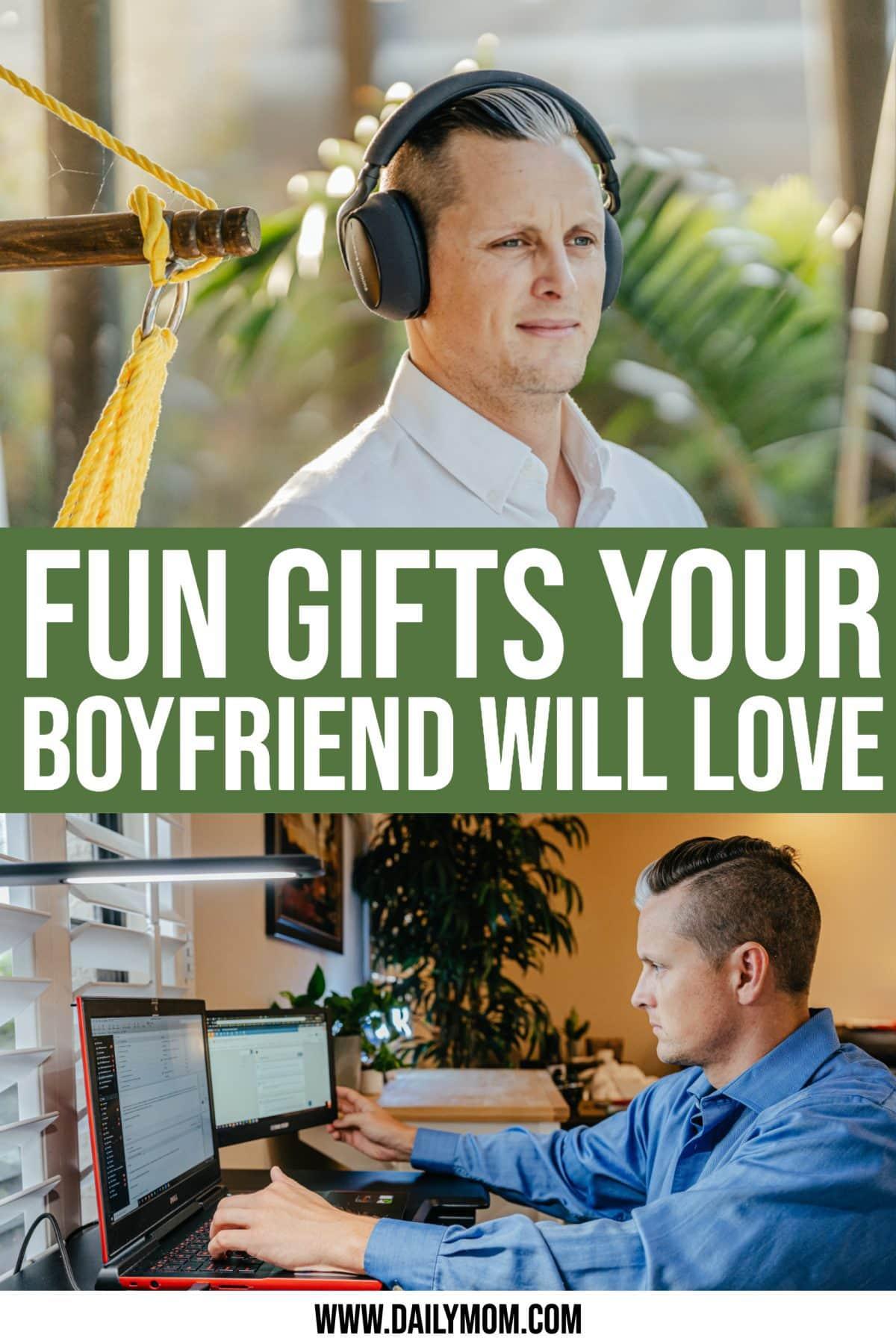 Christmas Gift Ideas Your Boyfriend Will Love