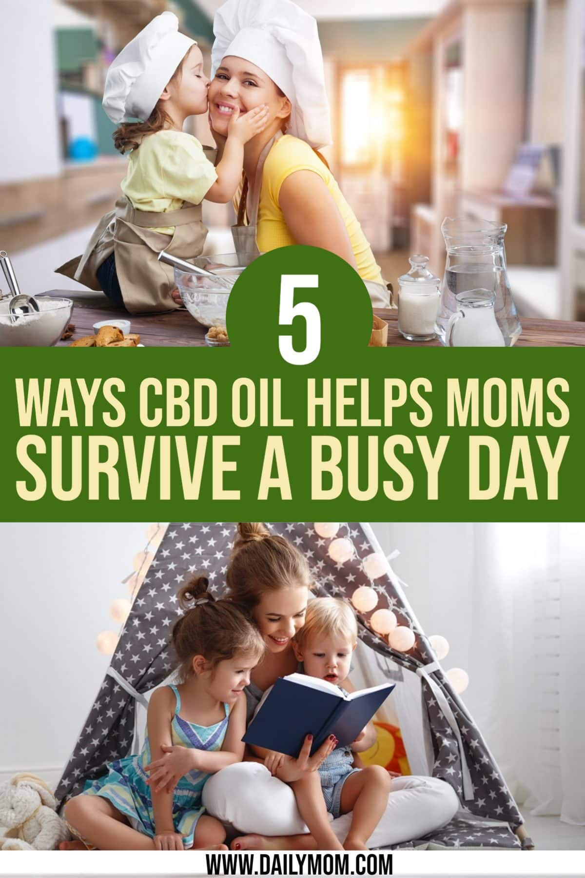 5 Ways Cbd Oil Helps Moms Survive A Busy Day Daily Mom Parents Portal