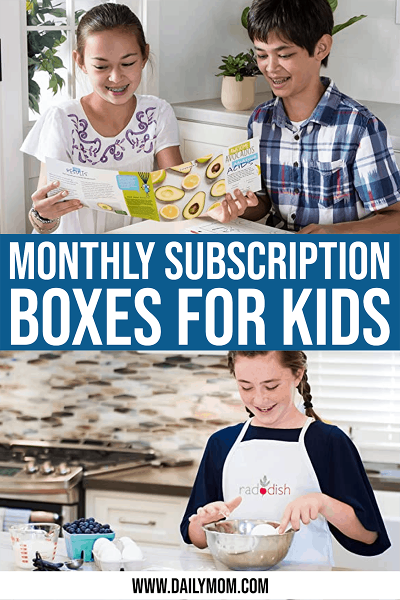 18 Monthly Subscription Boxes For Kids Ages 7-12