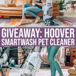 Giveaway: Win A Hoover Smartwash Pet Automatic Carpet Cleaner