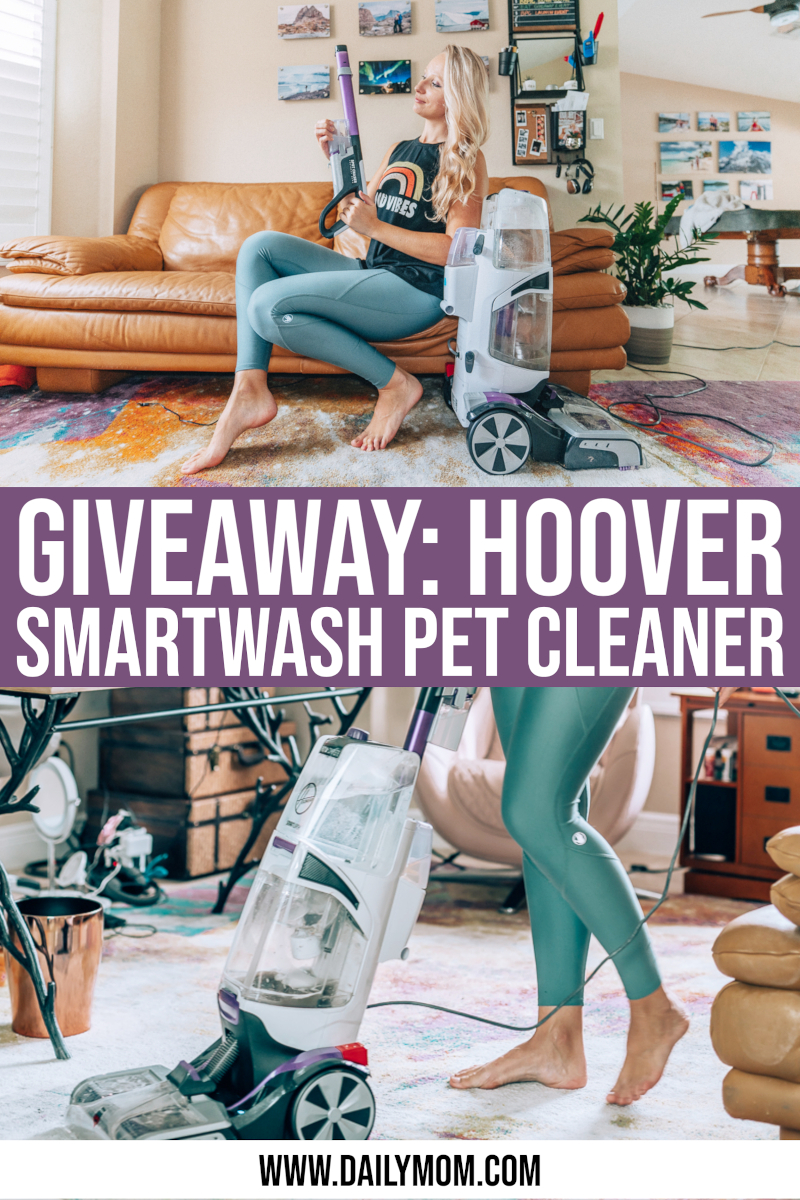 daily-mom-parent-portal-Giveaway: Win A Hoover Smartwash Pet Automatic Carpet Cleaner