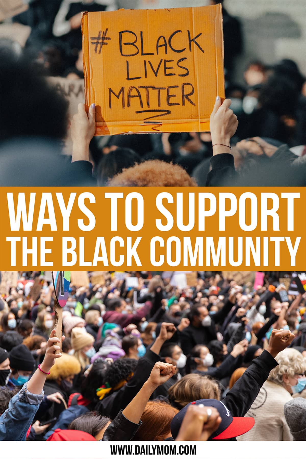daily-mom-parent-portal-Ways To Love And Support The Black Community