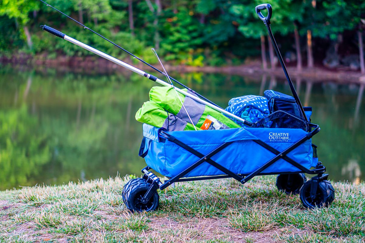 Make Your Next Family Camping Adventure Even Better With Custom Folding Wagons And Big Agnes