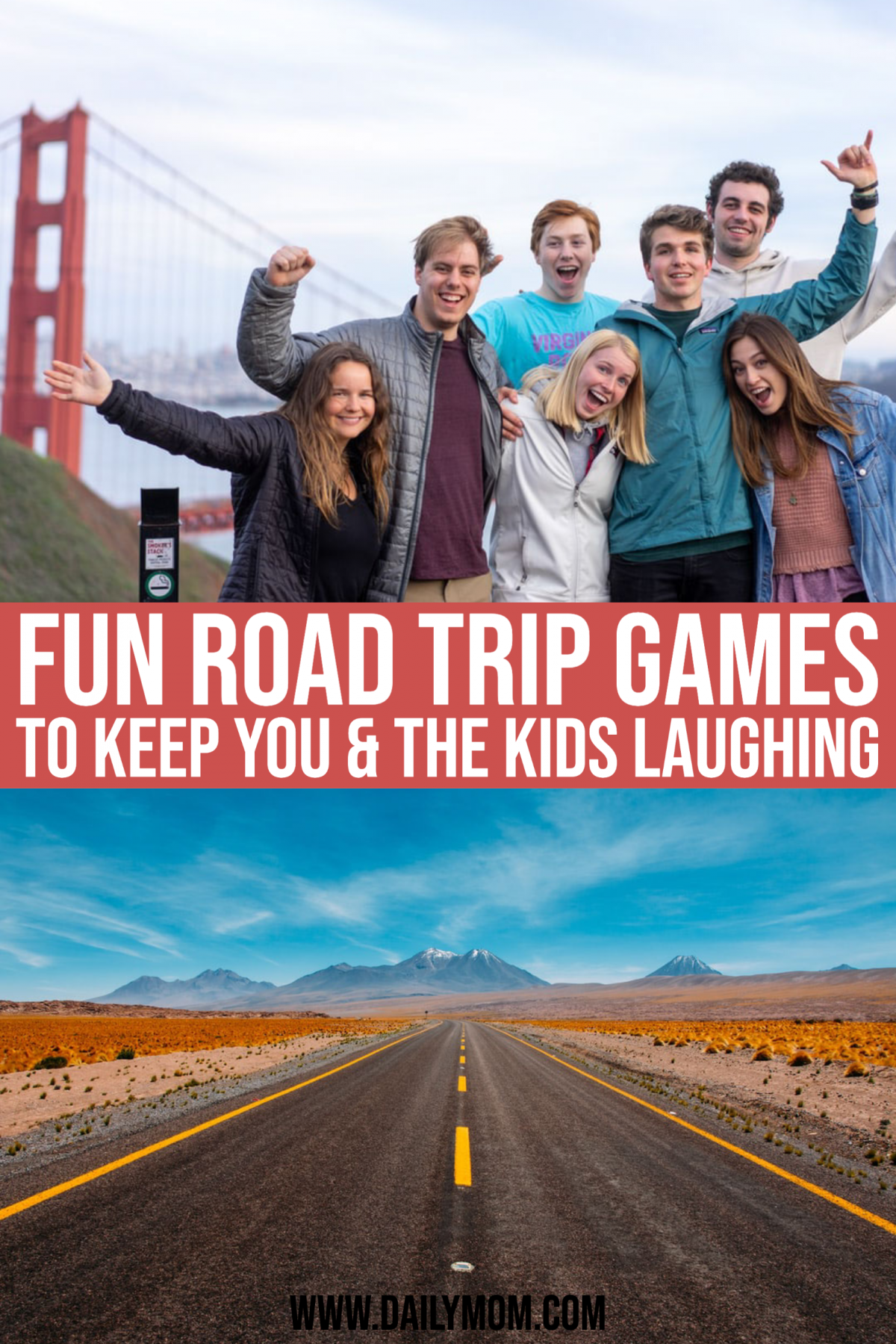 15 Fun Road Trip Games To Keep You And The Kids Laughing