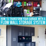 Organizing The Garage With A Flow Wall Storage Solution
