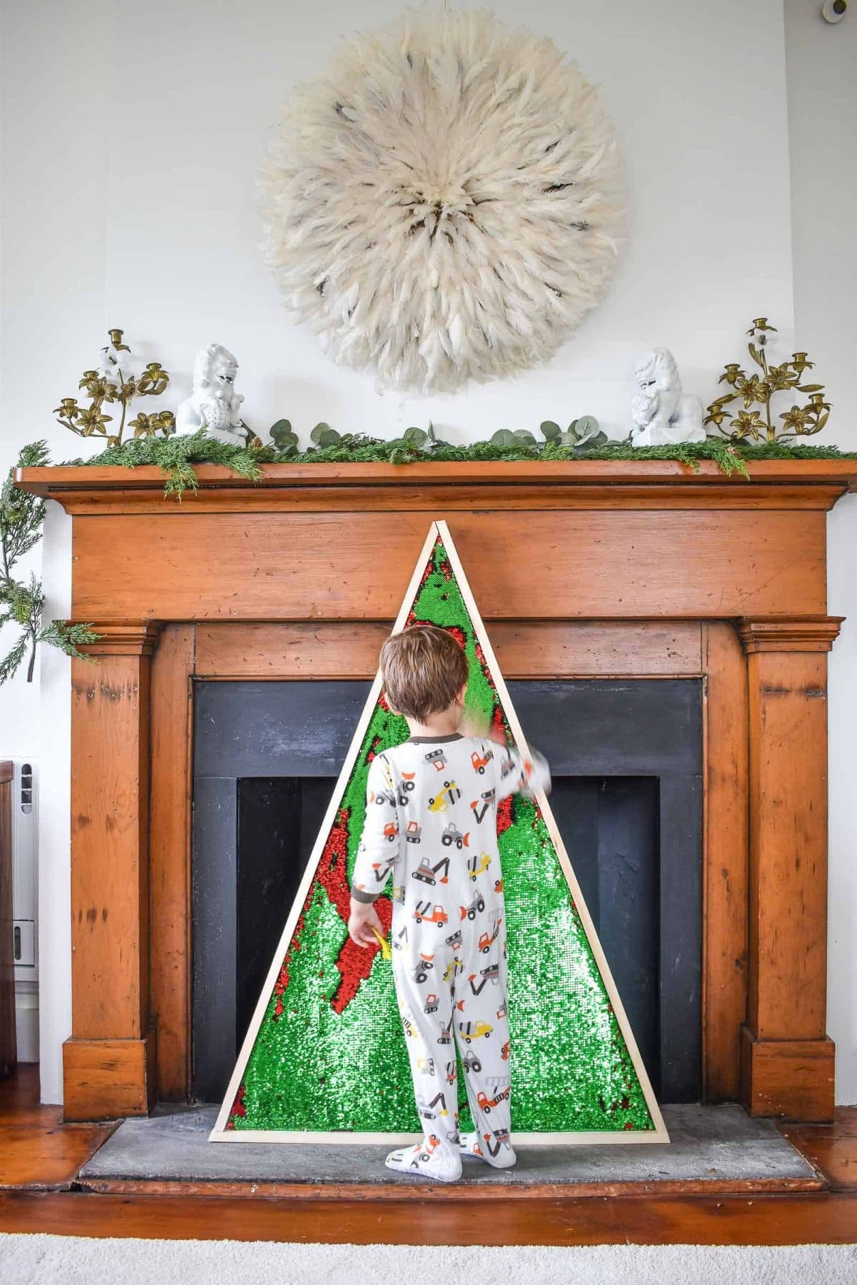 11 Whimsical Christmas Tree Alternatives To Try This Season-daily-mom-parent-portal
