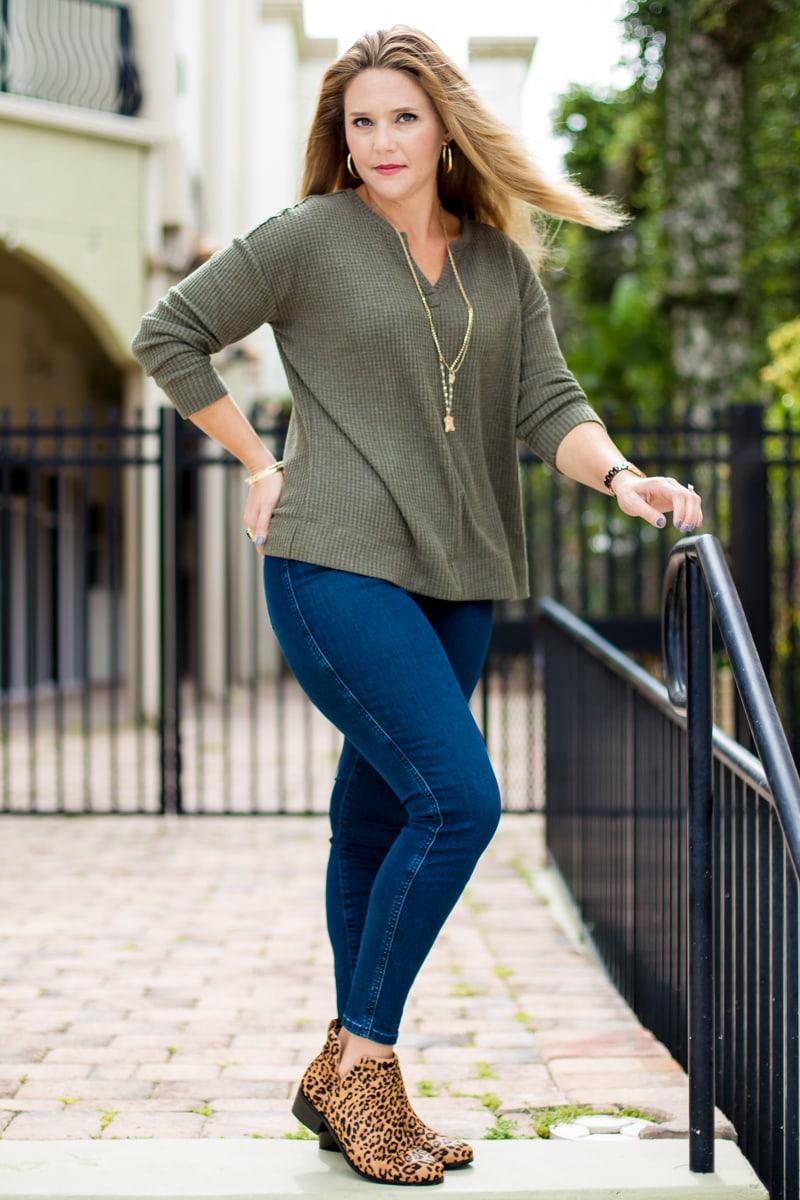 Kristin's Fall Fashion/baby Safety
