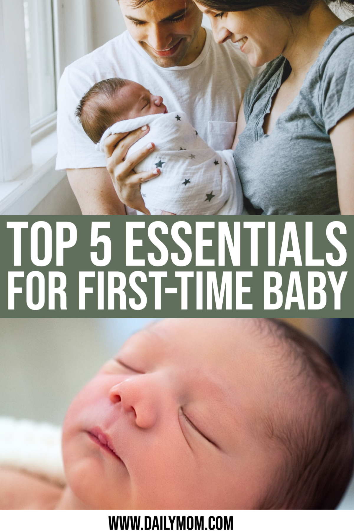 Baby Essentials: Top 5 Essentials For First Time Baby