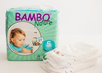 Safe And Eco-friendly Diapers: Bambo Nature