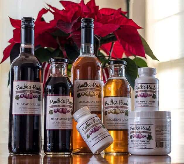 A Healthier You In 2017 With Muscadines