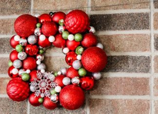 Craft Your Own Christmas Ornament Wreath