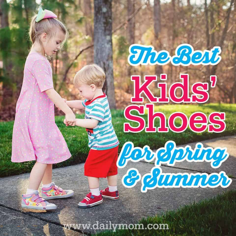 The Best Kids' Shoes for Spring & Summer Adventures by See Kai Run 17 Daily Mom Parents Portal